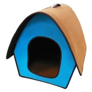 Small pet home-collapseable